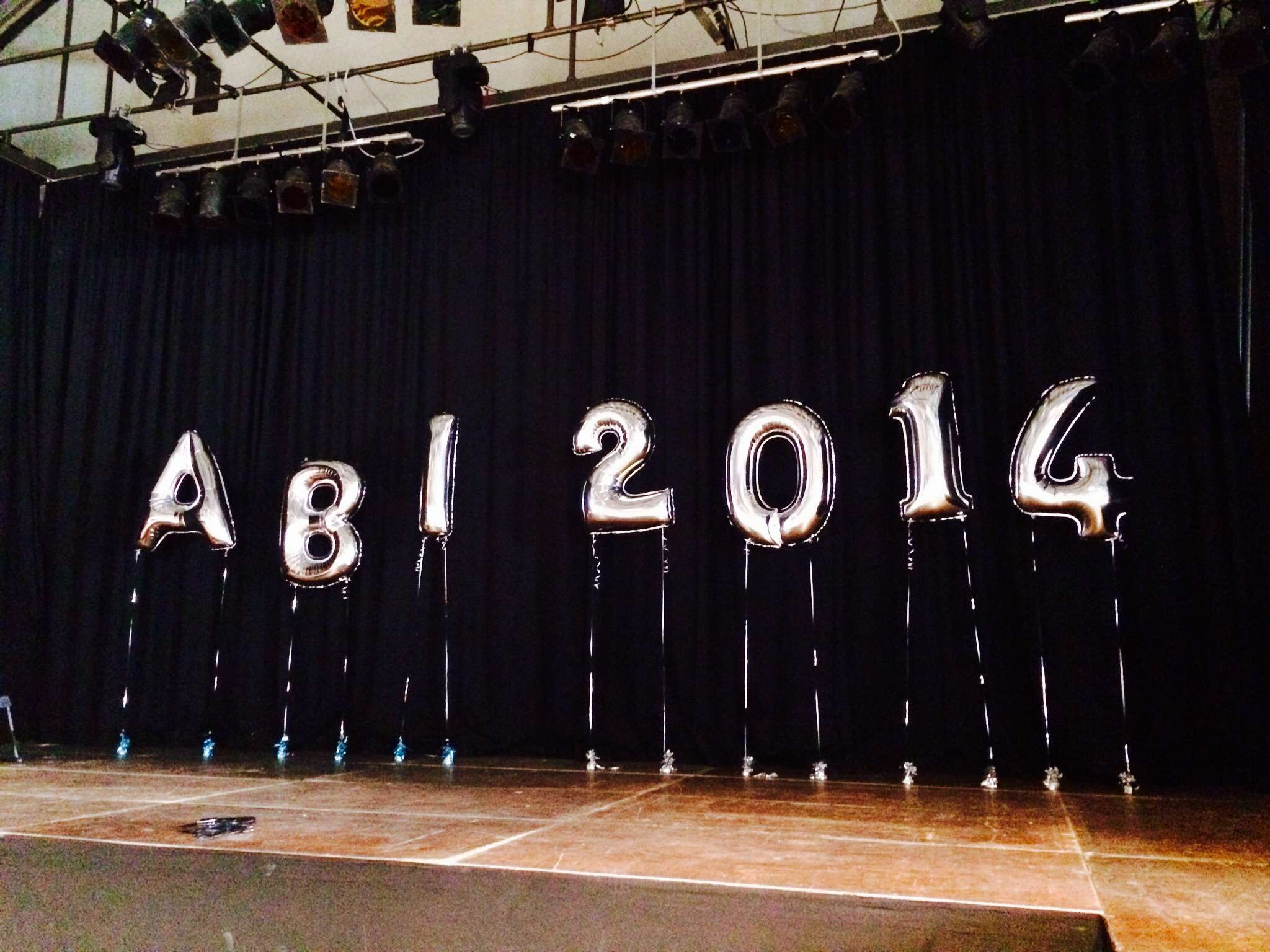 Abiball 2014 - Dekoration