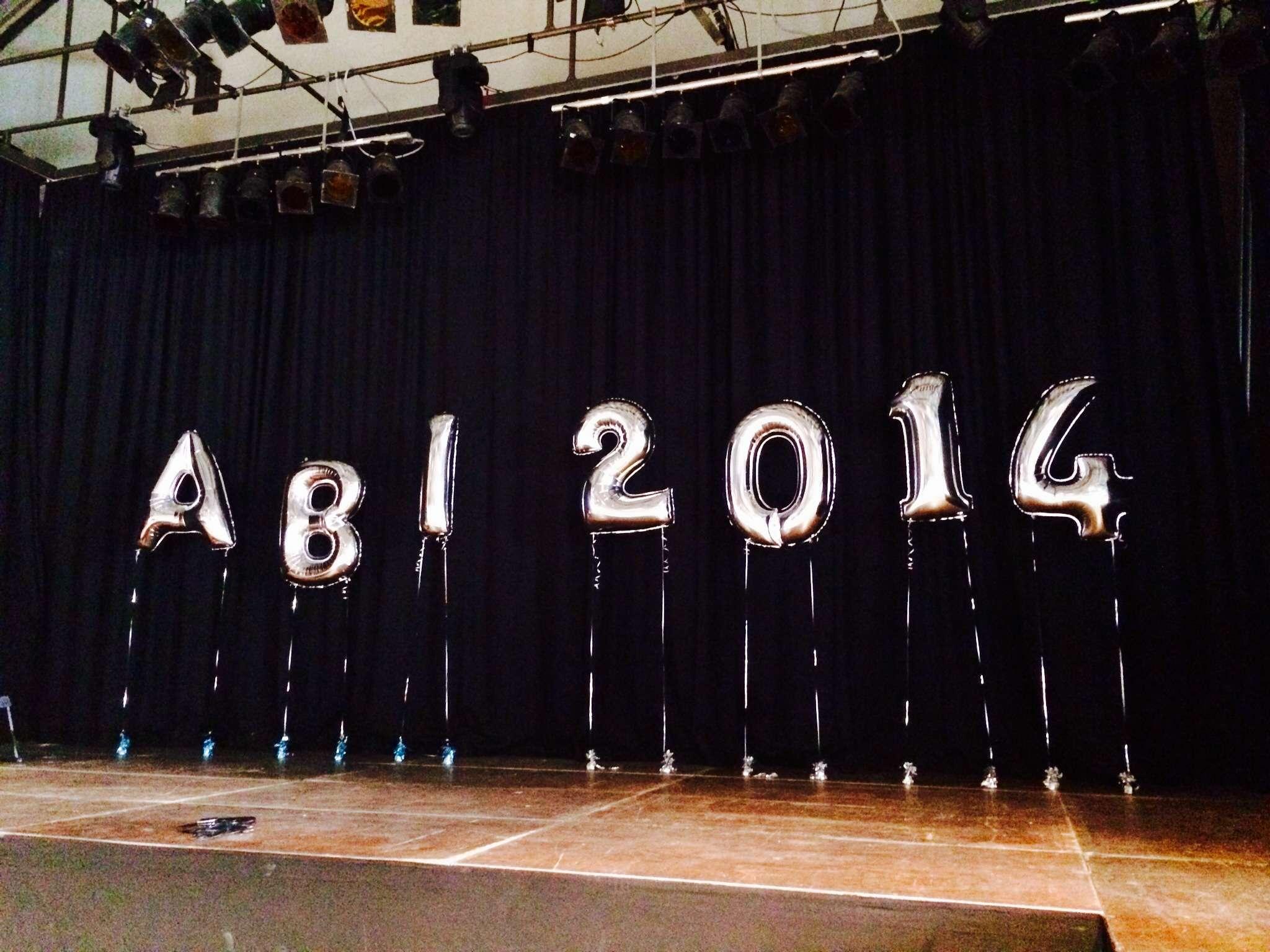 Abiball 2014 - Dekoration