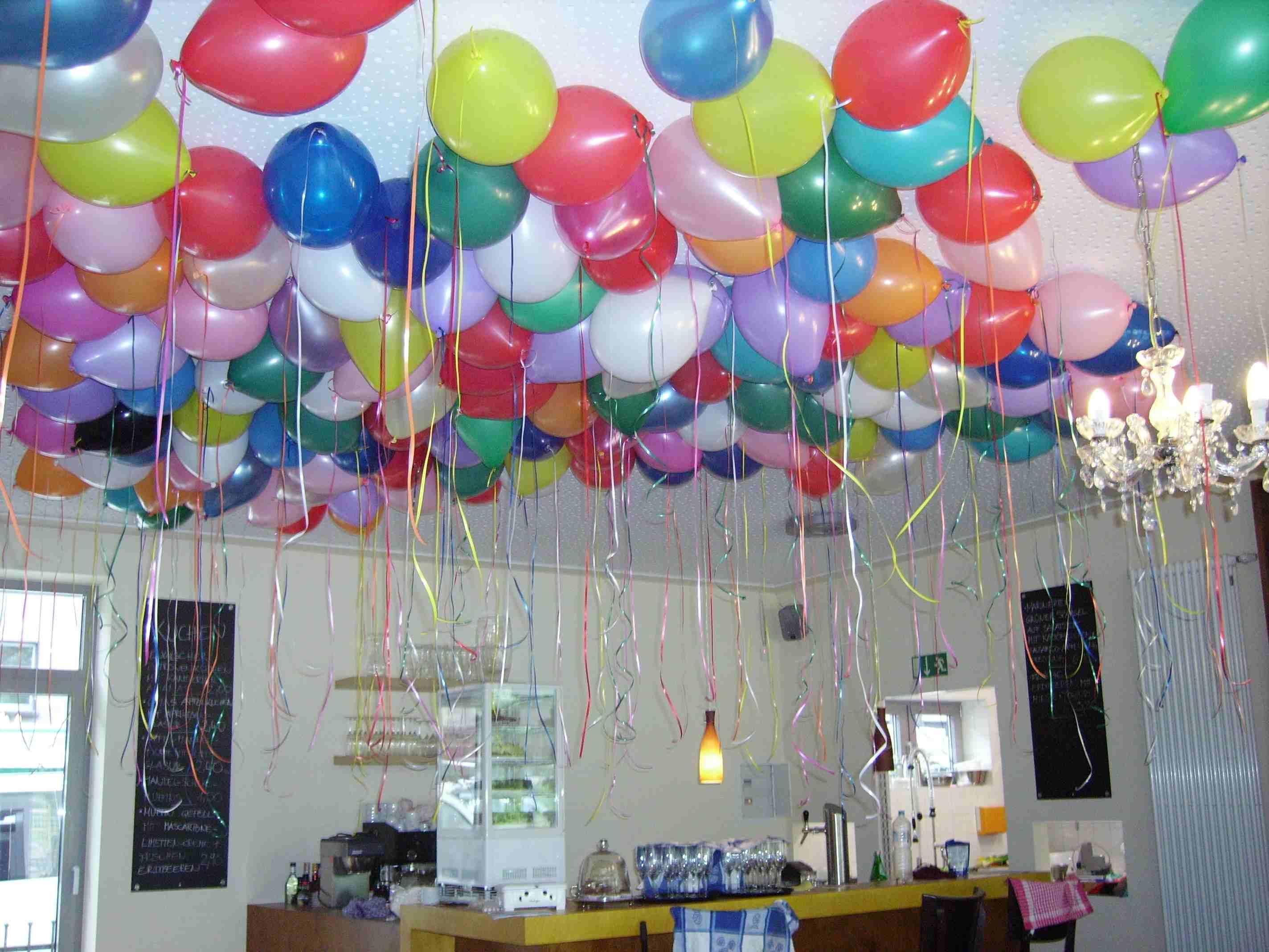 Geburtstags Dekoration Surprise Deko